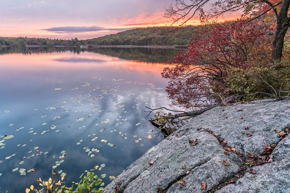 Last Light, Island Pond
