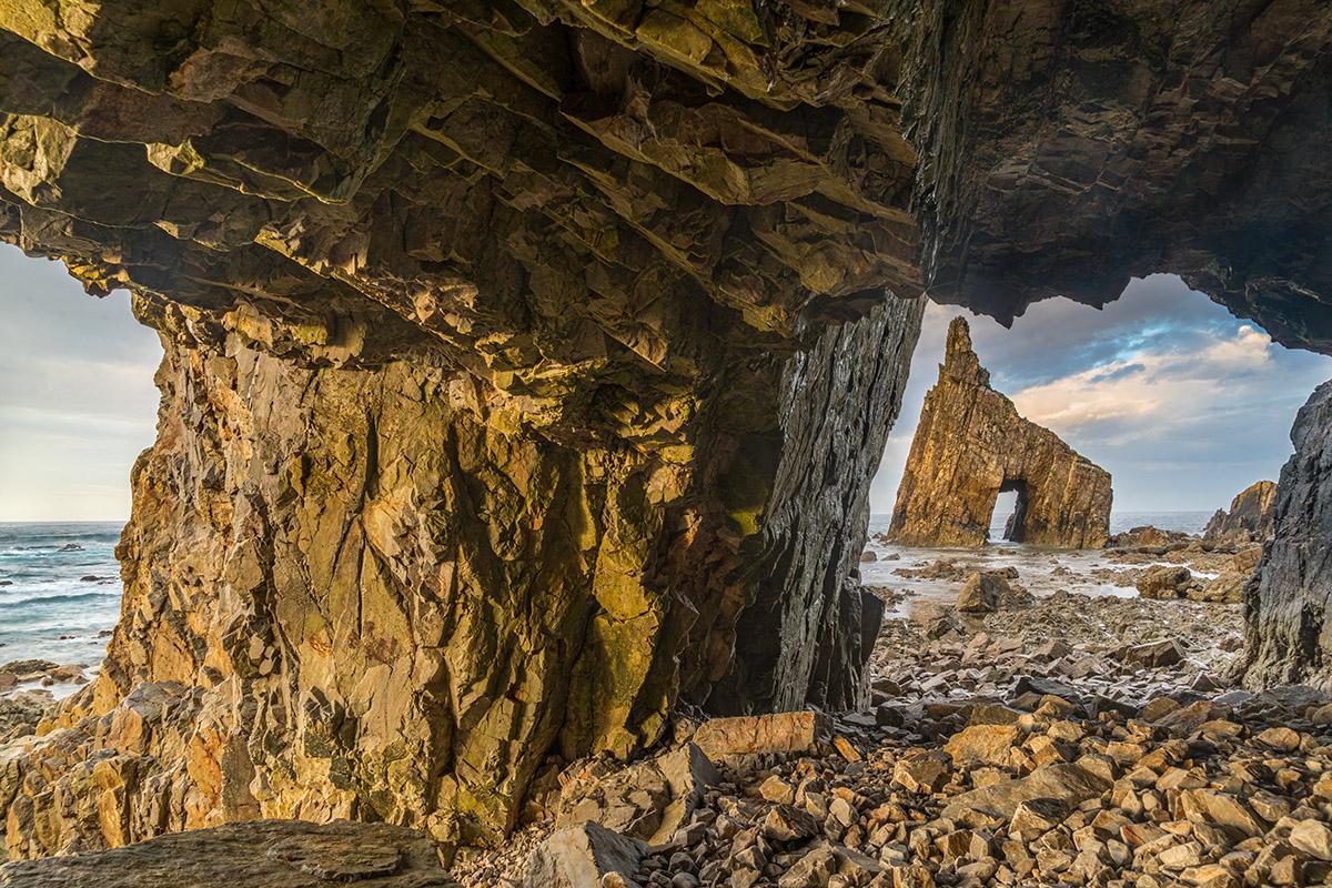 Asturias Sea Cave