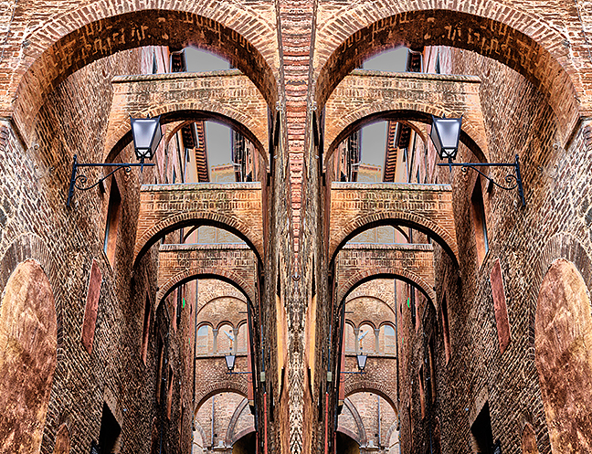 Buttresses Symmetry