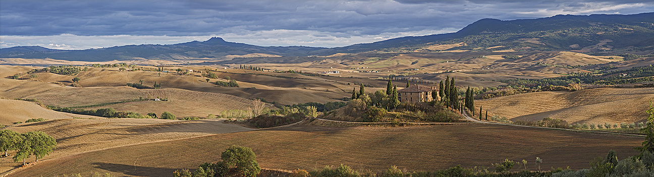 Val d'Orcia Hill Shadows