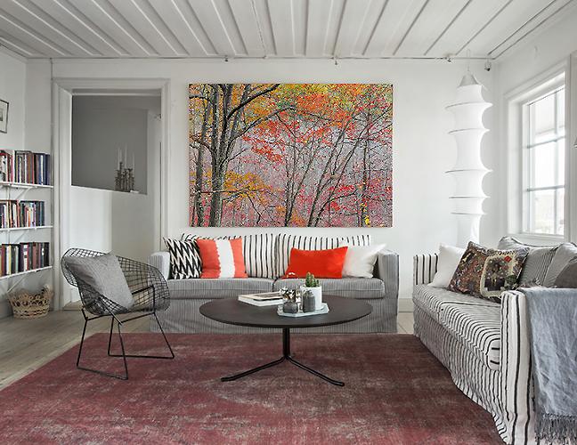 Autumn Leaves Livingroom