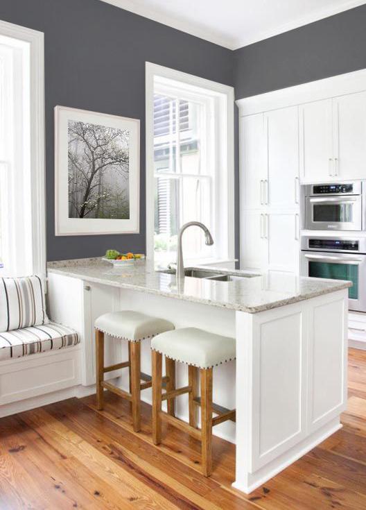 Gray Kitchen Art