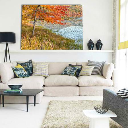 Red Flame Livingroom