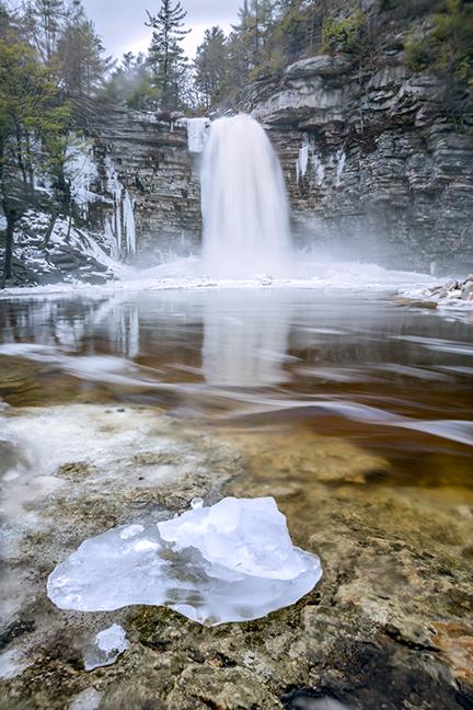 Awosting Falls Ice