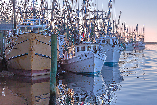 Darien Fishing Fleet