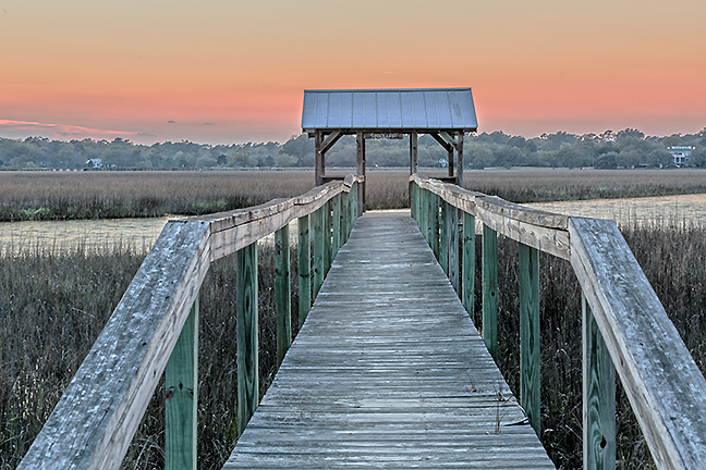 Marsh Dock, Pawleys Island