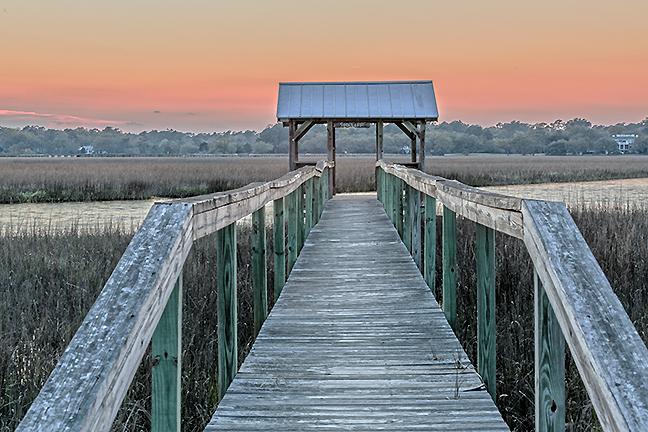 Marsh Dock, Pawleys Island