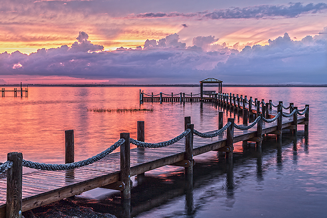 Barnegat Bay Boat Dock